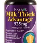 Natrol Milk Thistle Advantage 525 Mg veggie Capsule, 60-Count